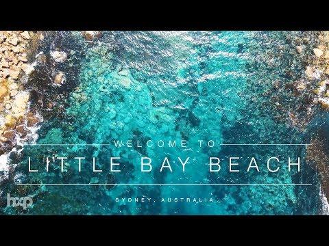 Australia - Little Bay Beach by Drone 4k
