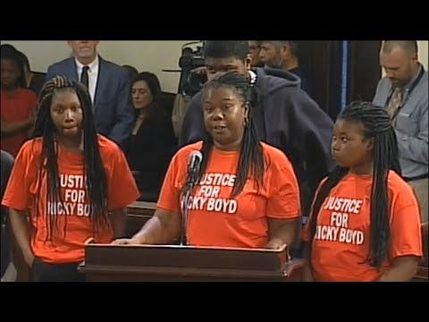 Police Shooting Victim Ricky Boyd's Mother Confronts the City of Savannah: They Lie Again