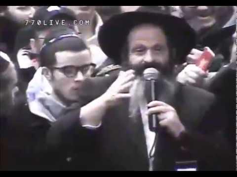 שעות של ריקודים ושמחה ב770 עם שחרור ר' שלום רובשקין