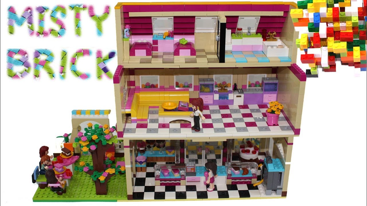 Download Lego Friends Flat Above Shop by Misty Brick.