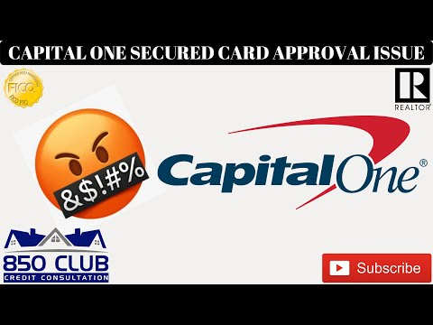 Capital One Secured Credit Card Approval Issue - $49 Deposit