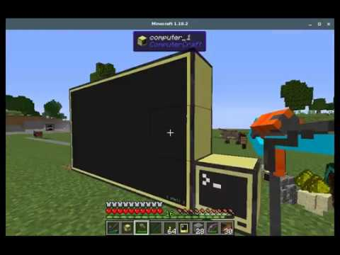 Computercraft Monitor Window Manager