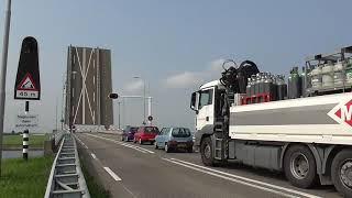 Brugopening Postbrug Yerseke Basculebrug/ Drawbridge/ Pont Basculant/ Zugbrücke