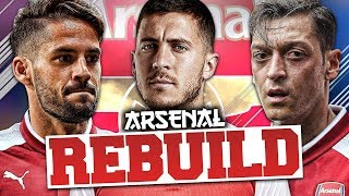 REBUILDING ARSENAL!!! FIFA 18 Career Mode