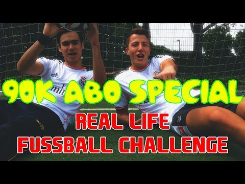 FeelFIFA - 90k ABO SPECIAL - Real Life Fussball Challenge