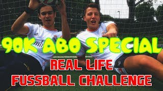 FeelFIFA - 90k ABO SPECIAL - Real Life Fussball Challenge