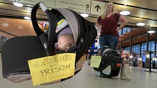 WELCOME HOME FROM PRISON | While he was away | Violett Vlogs
