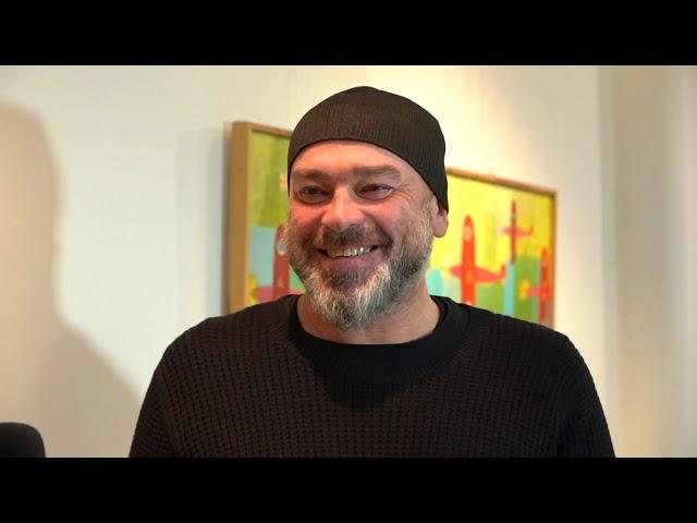Tomasz Budzyński o twórczości, muzyce i malarstwie