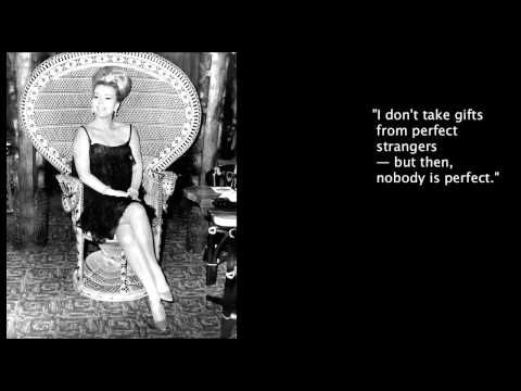 Famous  Quotes Of Zsa Zsa Gabor