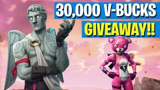 Fortnite - 30,000 V-Bucks GIVEAWAY!