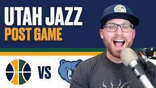 Utah Jazz vs Memphis Grizzlies: Post Game Reaction