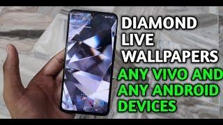 Diamond live wallpaper any vivo any  android  devices [HINDI] screenshot 5
