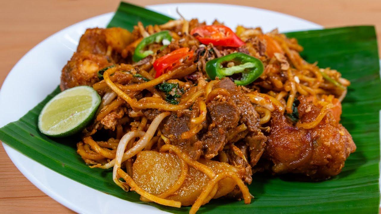 Mee Goreng Mamak Daging Ori Style Penang Sedap Sungguh Baq Hang