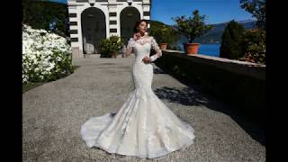 Свадебные платья русалка 2018 года
