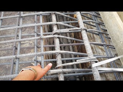 How we connect slab and rcc stairs reinforcement together