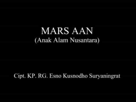 MARS ANAK ALAM NUSANTARA