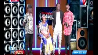 soldier m rashid and his mother namagembe sarah live on delta t.v