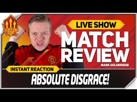 Goldbridge! Everton 4-0 Manchester United Match Reaction
