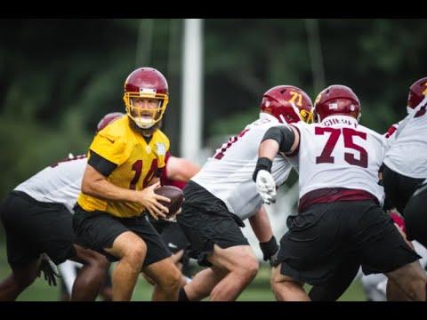 Washington Football Team QB Ryan Fitzpatrick's status uncertain ...