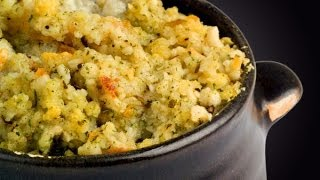Shrimp Cornbread Stuffing - Thanksgiving