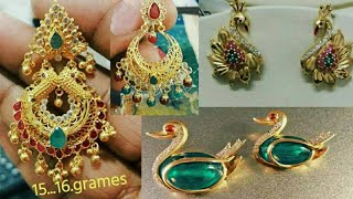 Beautiful eairings collection with weight/