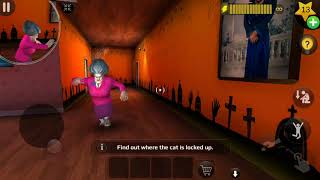 Trolling Scary Teacher 3D - Free the Cat V5.1.1 ~ Android, iOS Game #1