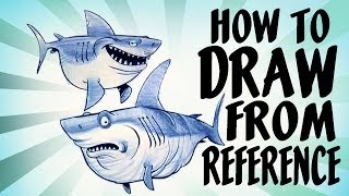 How to draw from reference