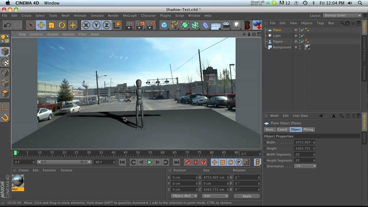 4d Shadow: C4D Quick Tut: Casting Shadows In Cinema 4D