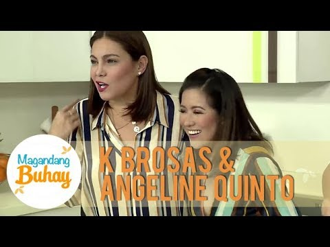 K and Angeline talk about the time when they were affected by flash floods | Magandang Buhay