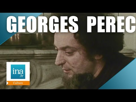 Rencontres avec Georges Perec | Archive INA