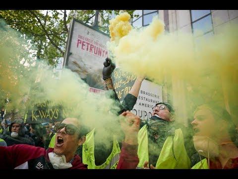 صدامات بين الشرطة ومتظاهرين قبل مسيرات الأول من أيار/مايو في باريس