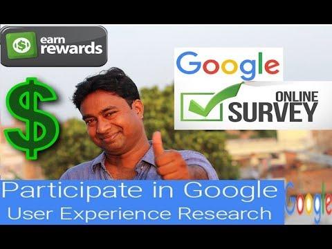 Now Earn from Google Online Survey Program !  2 Ways to Earn Rewards