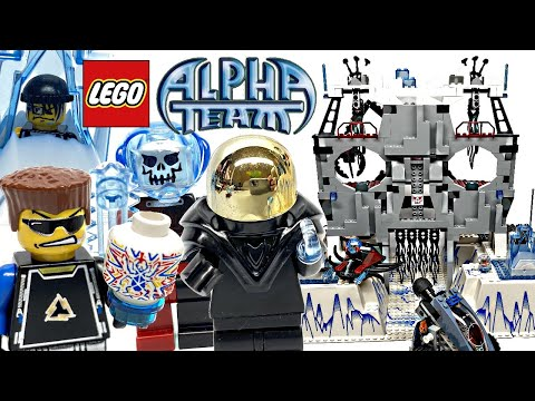 LEGO Alpha Team Ogel's Mountain Fortress Review! 2004 Set 4748!