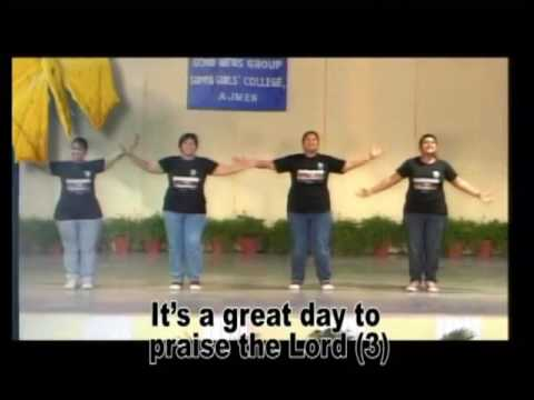 It's A Great Day To Praise The Lord Action Song