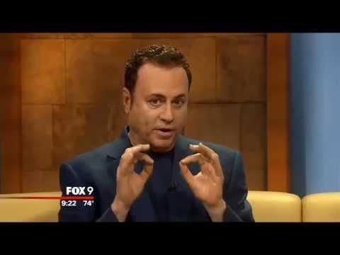 "The Psychic Lawyer®, Mark Anthony in Twin Cities Fox9 ""The Buzz""  KMSP TV"
