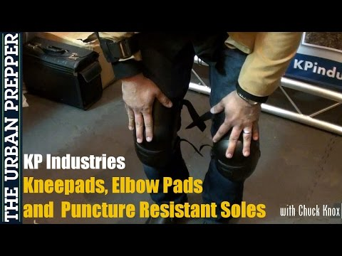 KP Industries: Kneepro Pads (Shot Show 2015) by TheUrbanPrepper
