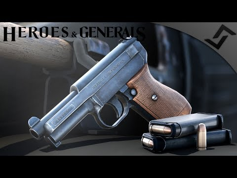 Baby Pistols and S-Mines - Heroes and Generals - NEW German Pistol Gameplay