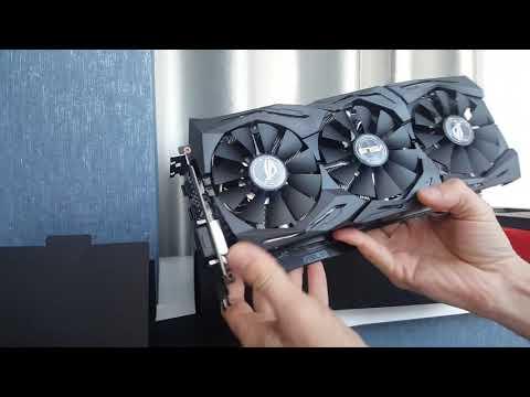 Asus PCI-Ex Radeon RX580 ROG Strix 8GB GDDR5 (256bit) (1411/8000) (DVI, 2 x HDMI, 2 x DisplayPort) (ROG-STRIX-RX580-T8G-GAMING)