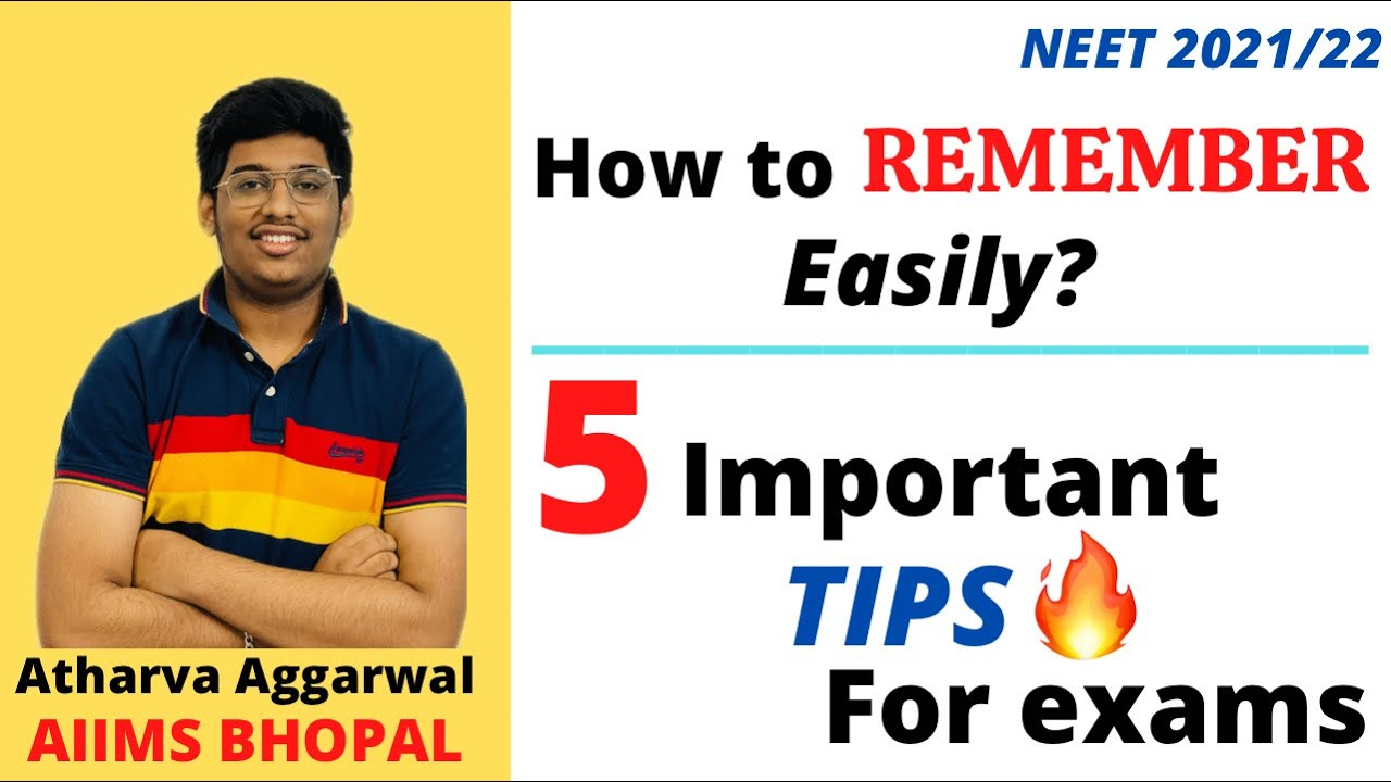 5 important tips to improve your memory || Retain things for longer duration  || NEET | JEE | BOARDS