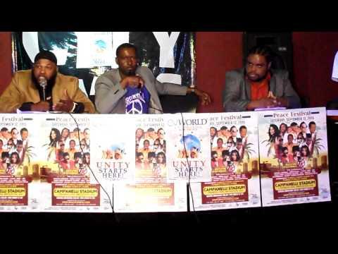 Brockton Ma Peace Festival Press Conference 9/11/15 part 1