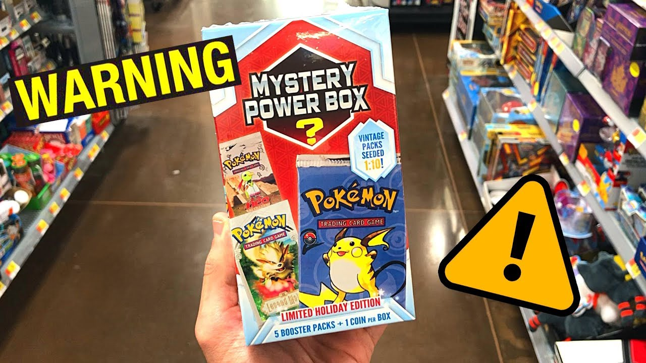 53e1381139 CAN WE TRUST THEM?!* Opening NEW Mystery Power Boxes of Pokemon ...
