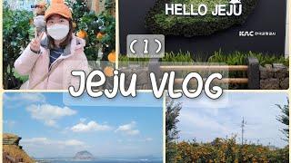 제주도 여행 Vlog  | ep.1 | 김포~제주 하늘…