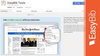 EasyBib Toolbar Extension for Google Chrome - EasyBib.com