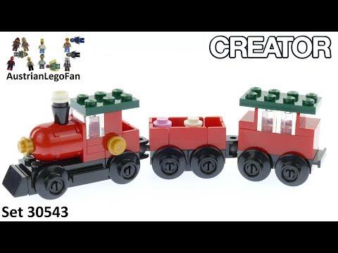 LEGO 30543 CREATOR HOLIDAY CHRISTMAS TRAIN NEW LEGO TOYS