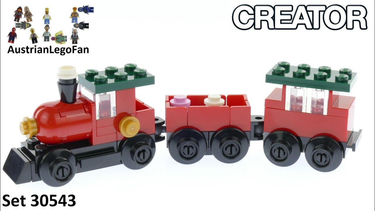 Lego Christmas Train.Lego Christmas Train Lego Creator 30543 Speed Build