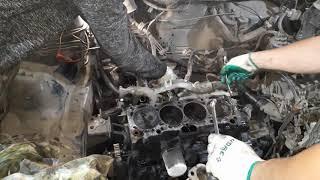 Ремонт двигателя 4A-FE Toyota Corolla AE100
