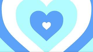 Sky Blue Ending Heart Background Scene 1 HOUR LOOP