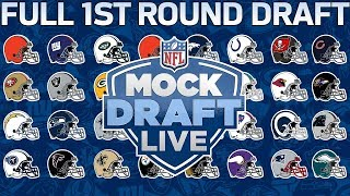 2018 Mock Draft Live Full 1st Round with All 32 Picks | NFL Network