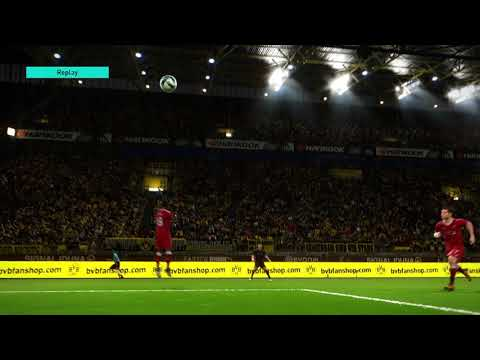 PES 2018 Demo brilliant free kick cross and header second angle  !!!