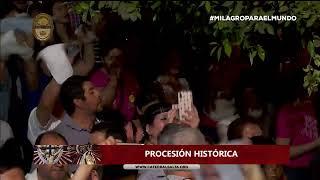 En vivo. Multitudinaria procesión del Milagro en Salta